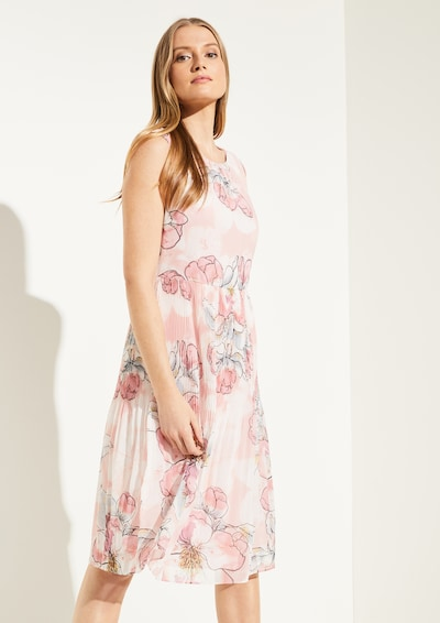 COMMA Kleid in pink: Frontalansicht