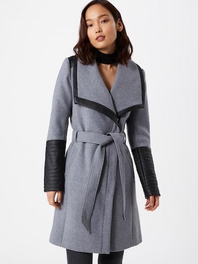 ONLY Mantel 'Elly' in grau / schwarz, Modelansicht