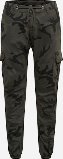Urban Classics Big & Tall Карго панталон в сиво / базалтово синьо / камък, Преглед на продукта