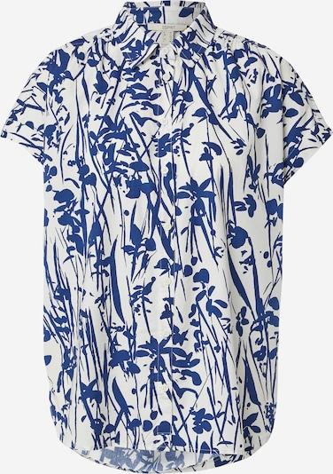 ESPRIT Bluzka w kolorze ciemny niebieski / białym, Podgląd produktu