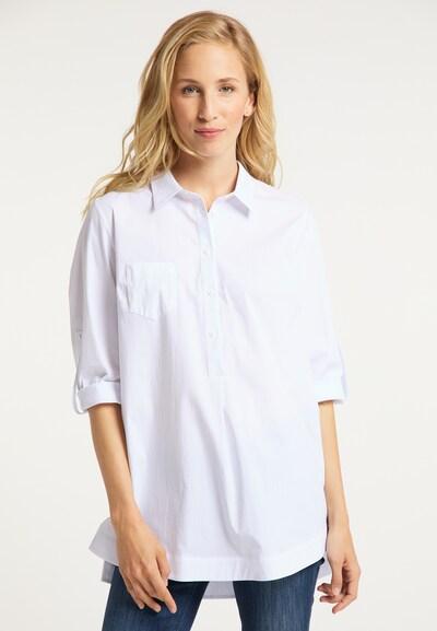 usha BLUE LABEL Bluse in weiß, Modelansicht