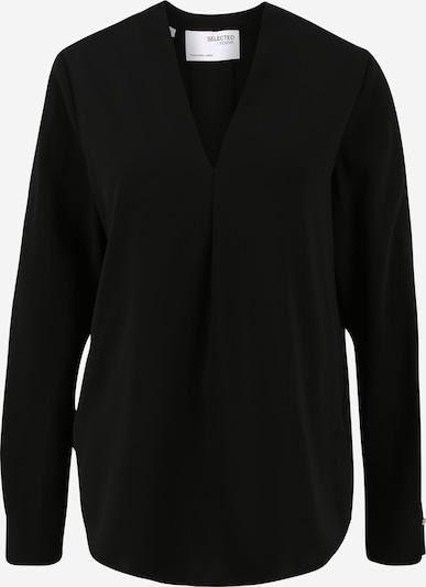Selected Femme (Tall) Bluzka 'Luna' w kolorze czarnym: Widok z przodu