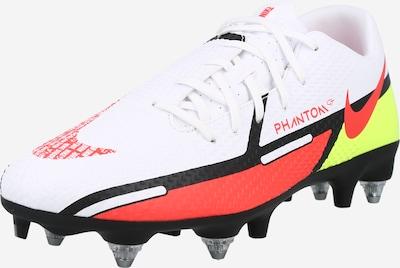 NIKE Voetbalschoen in de kleur Limoen / Knalrood / Zwart / Wit, Productweergave
