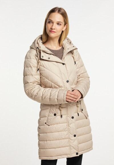 DreiMaster Klassik Mantel in beige, Modelansicht