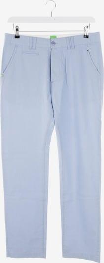 HUGO BOSS Hose in 4XL in hellblau / weiß, Produktansicht