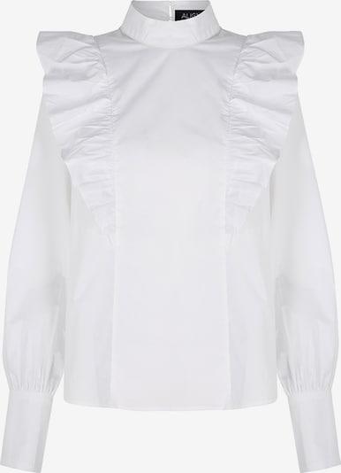 Bluză 'Annie' Aligne pe alb, Vizualizare produs