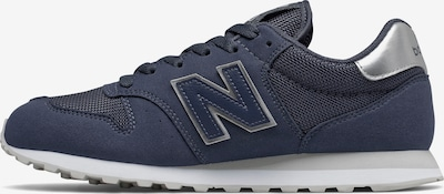new balance Sneaker in navy / silber, Produktansicht