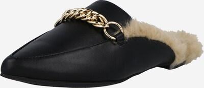 STEVE MADDEN Pantolette 'FORESEEN' in gold / schwarz, Produktansicht