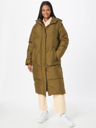 minimum Mantel 'Flawola' in khaki, Modelansicht