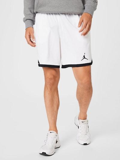 Pantaloni 'Jordan Dri-FIT Air' Jordan pe alb, Vizualizare model
