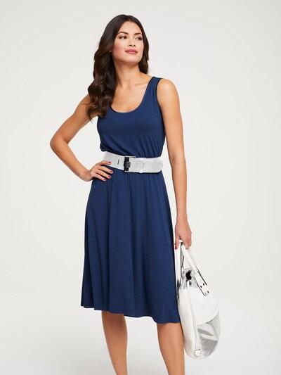 heine Kleid 'Timeless' in dunkelblau, Modelansicht