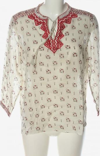 Gerard Darel Schlupf-Bluse in M in creme / rot / schwarz, Produktansicht