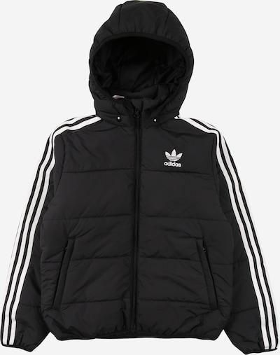ADIDAS ORIGINALS Veste d'hiver en noir / blanc, Vue avec produit