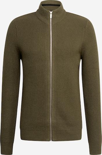 BURTON MENSWEAR LONDON Strickjacke in khaki, Produktansicht