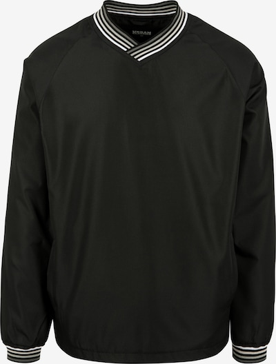 Urban Classics Pullover 'Warm Up' in grau / hellgrau / schwarz / weiß, Produktansicht