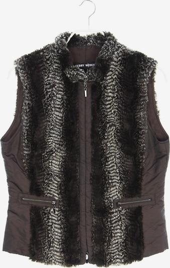 GERRY WEBER Vest in M in Brown, Item view