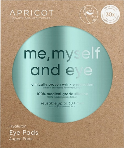 Apricot Eye Pads 'with Hyaluron' in weiß, Produktansicht
