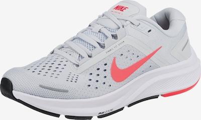 NIKE Chaussure de course en gris clair / melon, Vue avec produit
