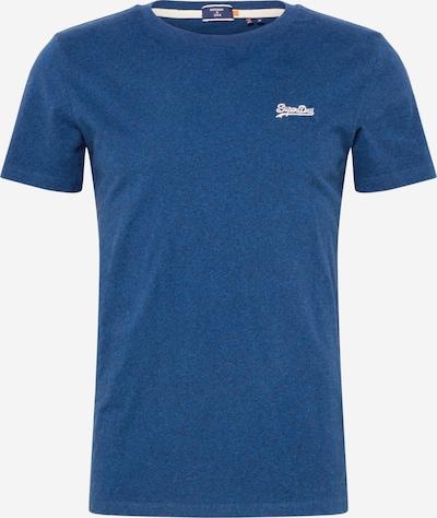Superdry Shirt in de kleur Blauw gemêleerd / Wit, Productweergave