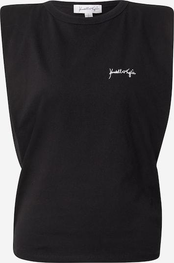 KENDALL + KYLIE Top in schwarz / weiß, Produktansicht