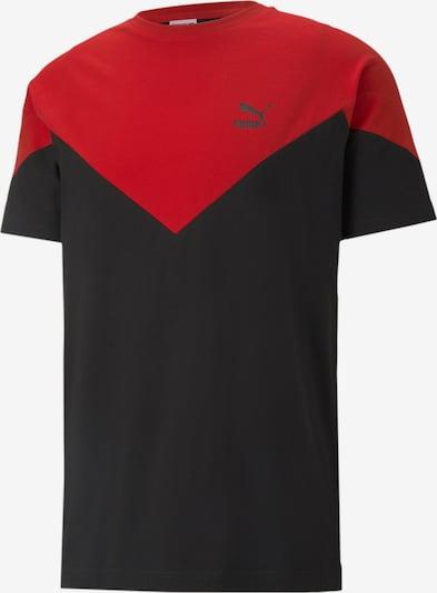 PUMA T-Shirt fonctionnel en rouge / noir, Vue avec produit