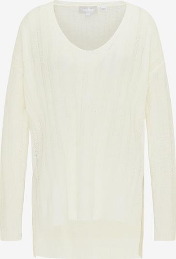 Usha Oversized Sweater in White, Item view