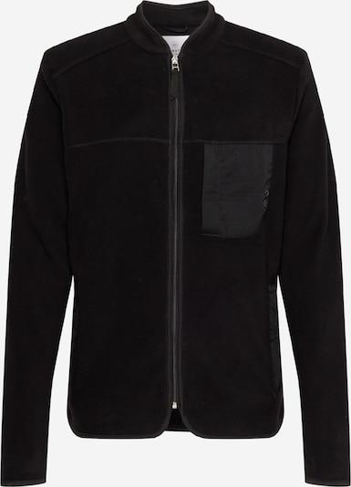 Kronstadt Fleecejacke 'Hayes' in schwarz, Produktansicht