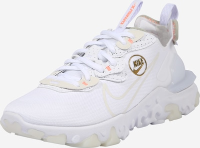 Sneaker low 'React Vision' Nike Sportswear pe auriu / alb, Vizualizare produs