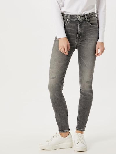 Calvin Klein Jeans Jeans in grau, Modelansicht