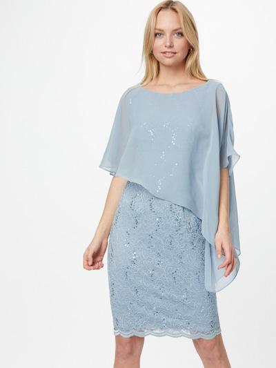 SWING Koktejl obleka | svetlo modra barva, Prikaz modela