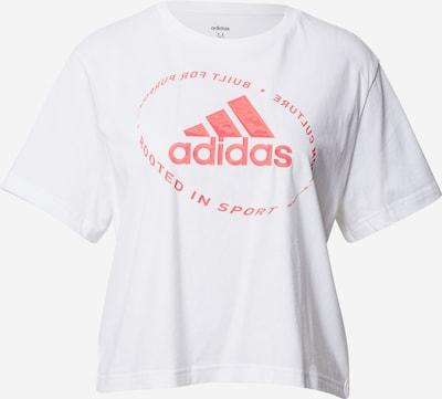 ADIDAS PERFORMANCE Ikdienas krekls rozā / balts, Preces skats