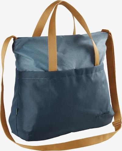 VAUDE Handtas 'Lukida' in de kleur Smoky blue / Duifblauw / Lichtbruin, Productweergave