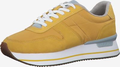 s.Oliver Zapatillas deportivas bajas en dorado, Vista del producto
