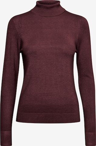 b.young Sweater 'BYPIMBA ROLLNECK 4' in Red