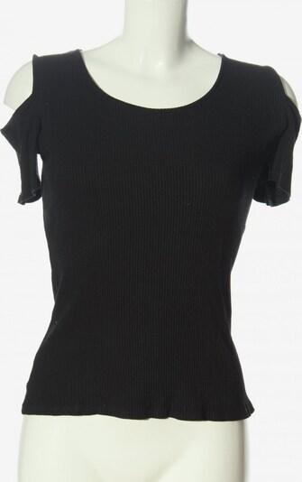 mister*lady Rippshirt in S in schwarz, Produktansicht