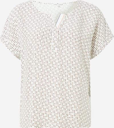 TOM TAILOR T-shirt en nude / ocre / saumon / blanc, Vue avec produit