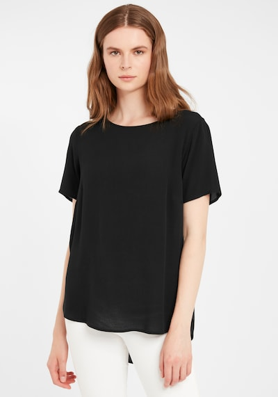 b.young Bluse 'Farhan' in schwarz, Modelansicht