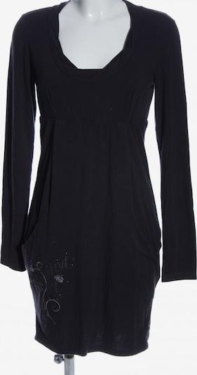 DEHA Langarmkleid in M in schwarz / weiß, Produktansicht