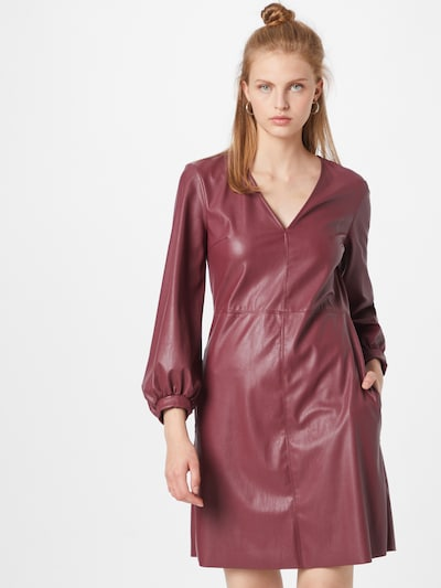 MAX&Co. Kleid in weinrot, Modelansicht