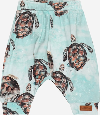 Walkiddy Trousers in light blue / mixed colours, Item view