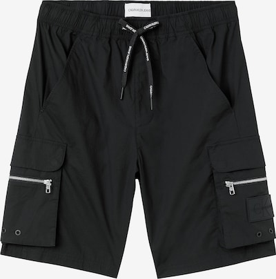 Calvin Klein Jeans Карго панталон в черно, Преглед на продукта