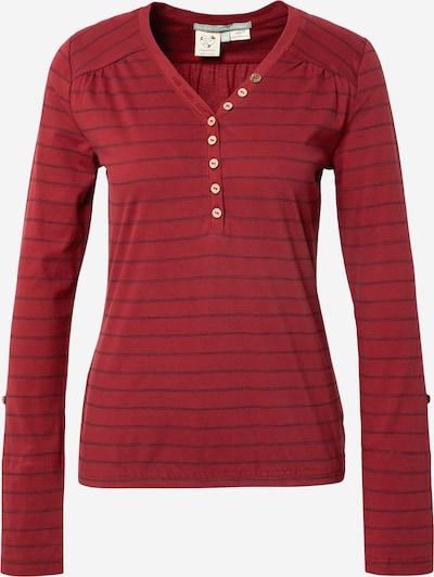 Ragwear Shirt in marine / weinrot, Produktansicht
