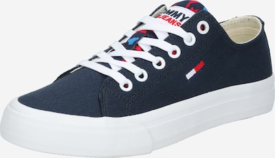 Sneaker low Tommy Jeans pe bleumarin / roșu / alb, Vizualizare produs