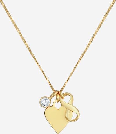Nenalina Halskette Herz, Infinity in gold, Produktansicht