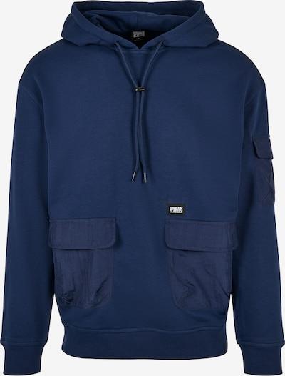 Urban Classics Sportisks džemperis 'Commuter' tumši zils / balts, Preces skats
