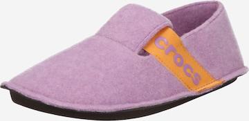 lillā Crocs Mājas apavi