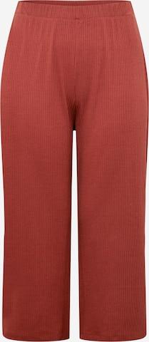 ABOUT YOU Curvy - Pantalón 'Thore' en marrón