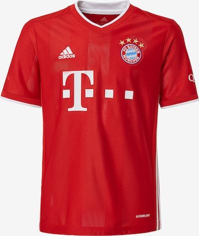 ADIDAS PERFORMANCE Functioneel shirt ' FC Bayern München Heimtrikot ' in de kleur Rood / Wit: Vooraanzicht