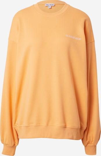 Public Desire Sweat-shirt en orange / blanc, Vue avec produit