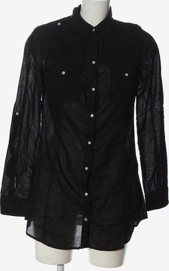 ZARA Hemd-Bluse in M in schwarz, Produktansicht